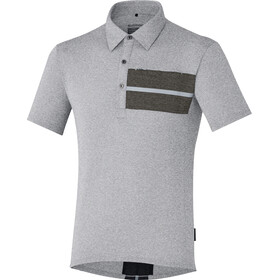Shimano Transit Bike Jersey Shortsleeve Men grey/black